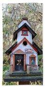 The Birdhouse Kingdom -the Pygmy Nuthatch Beach Towel