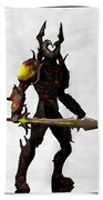 The Black Knight... Beach Towel