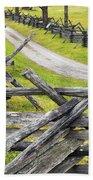 The Bloody Lane At Antietam Beach Towel