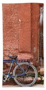 The Blue Bicycle Beach Towel
