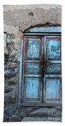 The Blue Door 1 Beach Towel