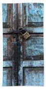 The Blue Door 2 Beach Towel