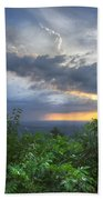 The Blue Ridge Mountains Beach Towel