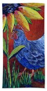 The Blue Rooster Beach Towel