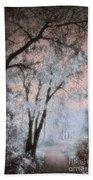 The Blue Trees Beach Towel