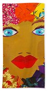 The Bluest Eyes Beach Towel
