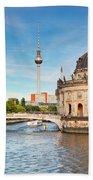 The Bode Museum Berlin Germany Beach Towel