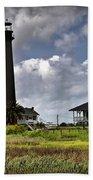 The Bolivar Lighthouse Beach Towel