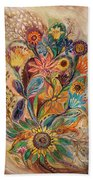 The Bouquet Of Life Beach Towel