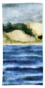 The Bowl - Dunes Study Beach Towel