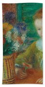 The Breakfast Porch Beach Towel by William James Glackens