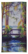 The Bridge At Kraft Azalea Beach Towel