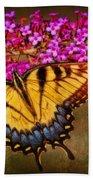 The Butterfly Effect Beach Towel