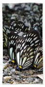The Butterfly Gathering 2 Beach Towel