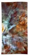 The Carina Nebula Beach Towel