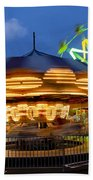 The Carnival Is In Town Beach Towel
