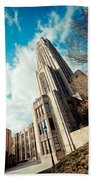 The Cathedral Of Learning 3 Beach Towel