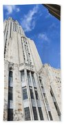 The Cathedral Of Learning 5 Beach Towel