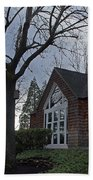 The Chapel At Eagle Point National Cemetery Beach Towel