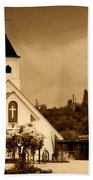 The Chapel At The Supes  Beach Towel