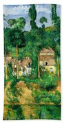 The Chateau De Medan, C.1880 Beach Towel