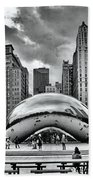 The Chicago Bean II Beach Towel