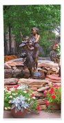The Children Sculpture Garden - Santa Fe Beach Towel