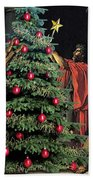 The Christmas Tree Of The Horatii Beach Towel