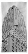 The Chrysler Building Beach Towel