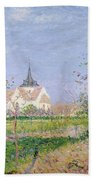 The Church At Vaudreuil Beach Towel
