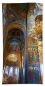 The Church Of Our Savior On Spilled Blood - St. Petersburg - Russia Beach Towel
