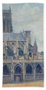 The Church Of St Jacques In Dieppe Beach Towel