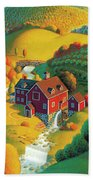The Cider Mill Beach Towel by Robin Moline