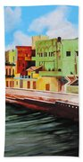 The City Of Matanzas In Cuba Beach Towel