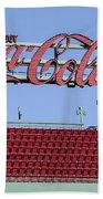 The Coca-cola Corner Beach Towel