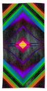 The Colors Of Space Beach Towel