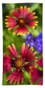 The Colors Of Summer  Beach Towel