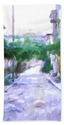 The Colors Of The Streets Beach Towel