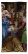 The Conversion Of Mary Magdalene Beach Towel