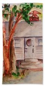 The Cottage In The Highlands Beach Towel