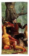 The Courageous Hunters Beach Towel