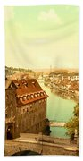 The Court House-bamberg-bavaria-germany - Between 1890 And 1900 Beach Towel