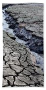 The Crack Of All Cracks Beach Towel