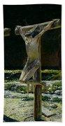 The Crucifixion Beach Towel