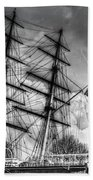 The Cutty Sark And Gipsy Moth Pub Greenwich Beach Towel