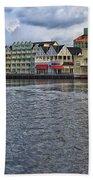 The Dance Hall At The Boardwalk Walt Disney World Beach Towel