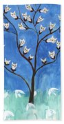 The Darling Buds Of February Beach Towel
