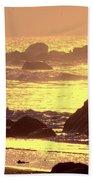 The Dawn Is Breaking  Beach Towel