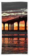 The Day Has Arrived  Beach Towel