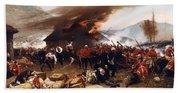 The Defence Of Rorke's Drift 1879 Beach Sheet